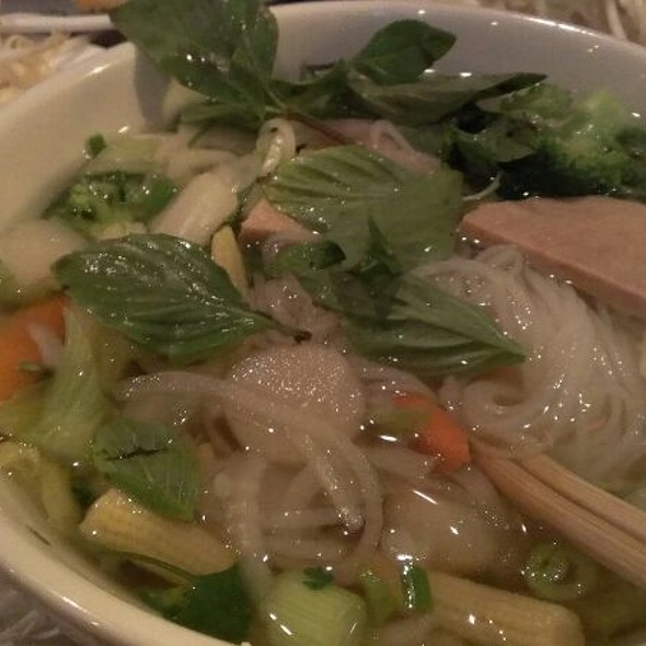 Veggie Pho @ Pho Bar And Grill