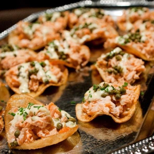 Smoked Salmon Chips - WiseGuys Steak & Lounge, Hilton Head Island, SC