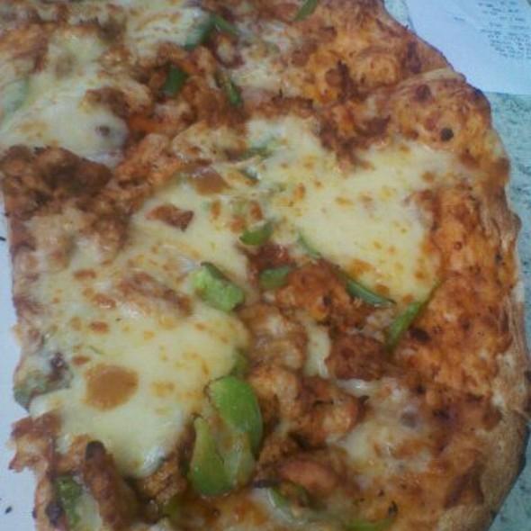 Chicken Tikka Masala Pizza @ Oil Libya Bomas