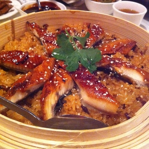 Taiwanese Style Bbq Eel On Sticky Rice @ Duck House