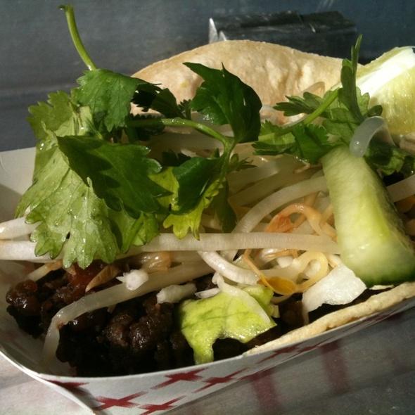 Korean Short Rib Tacos @ Koi Fusion Food Truck