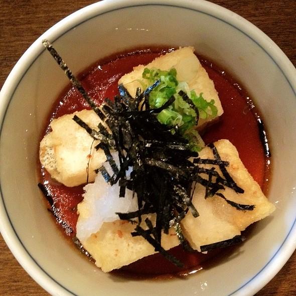 Deep fried tofu - Ginko Japanese Restaurant, Toronto, ON