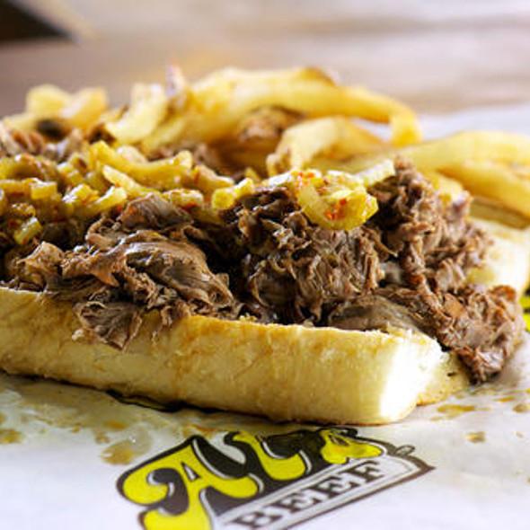 Regular Al Italian Beef Sandwich @ Al's Beef