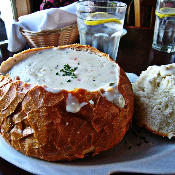 New England Clam Chowder - Chelsea's Chowder House, Long Beach, CA