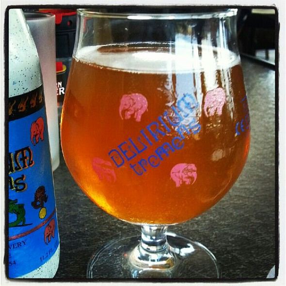 Delirium Tremens @ The Waterfront Restaurant