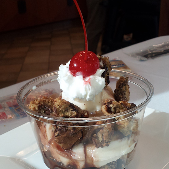Cookie Sundae @ Chick-fil-A