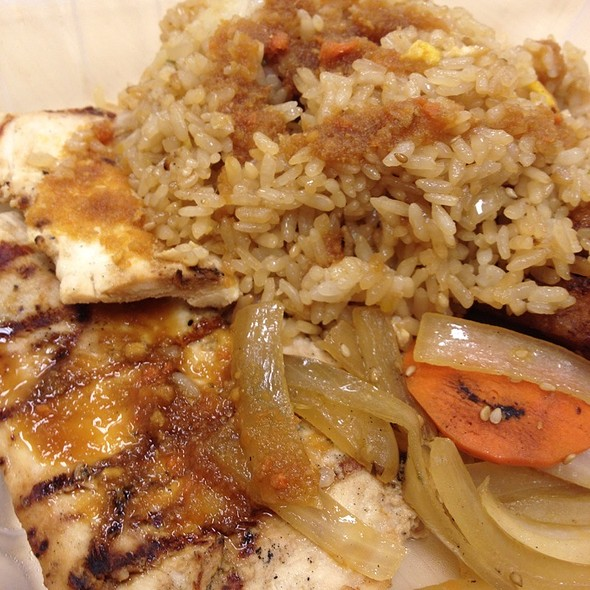 Grilled Chicken & Fried Rice @ SooWoo Japanese Steak House
