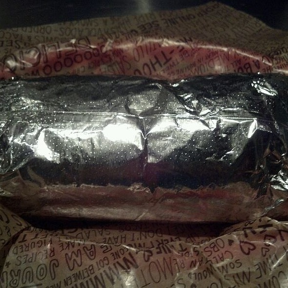 Steak Burrito @ Chipotle Mexican Grill