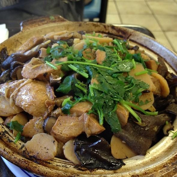 Chicken Rice Clay Pot @ Veggie Life Restaurant