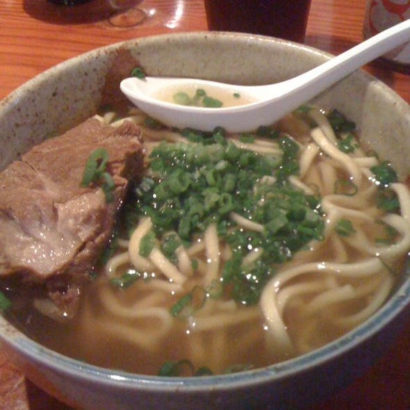 Okinawan Soba @ Shin Okinawa Izakaya