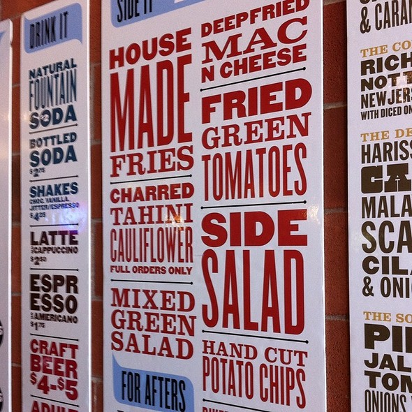 The Fixins @ Biker Jim's Gourmet Dogs (the Restaurant)