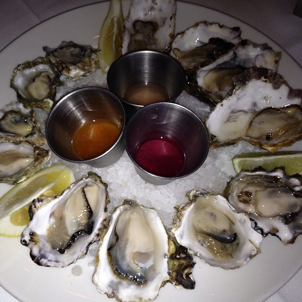 Oysters - Blue Point Coastal Cuisine, San Diego, CA
