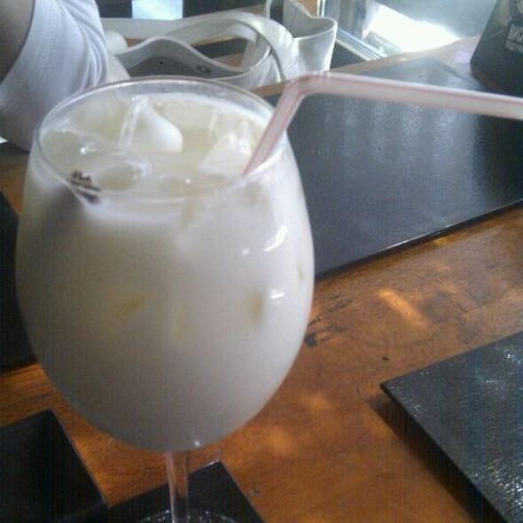 Лимонад карамель+чай @ Гин-Но Таки