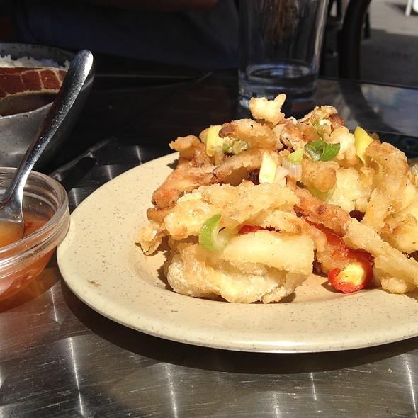 Lemon Grass Pepper Squid @ Mekong