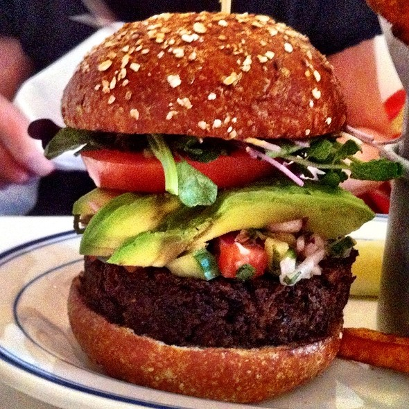 Falafel Burger @ LT Burger