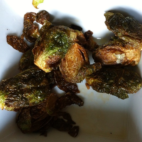 Fried Brussels Sprouts - Solstice, Stowe, VT