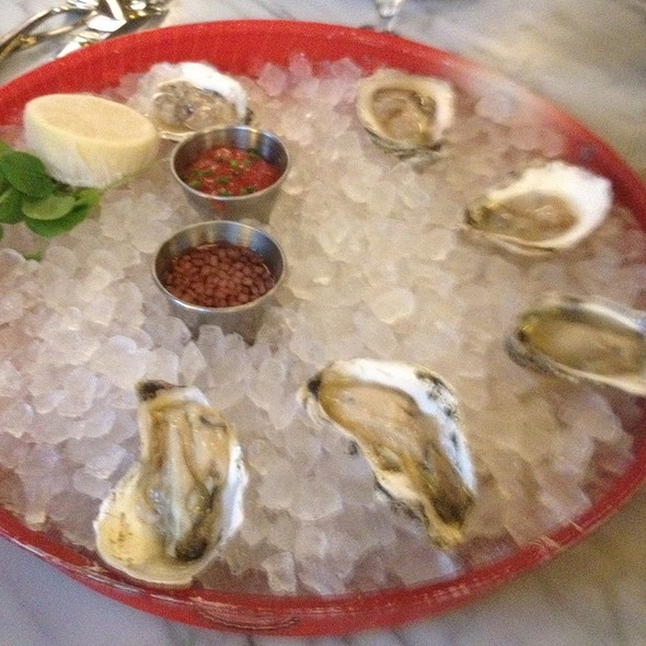 Oysters - Brasserie Beck, Washington, DC