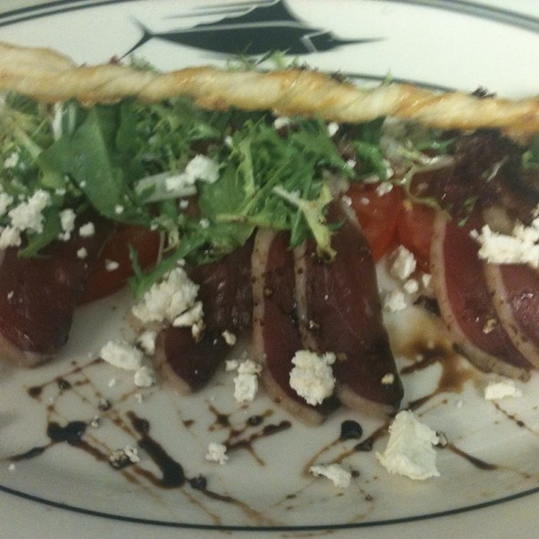 House Cured Duck Prosciutto Salad @ The Oceanaire Seafood Room