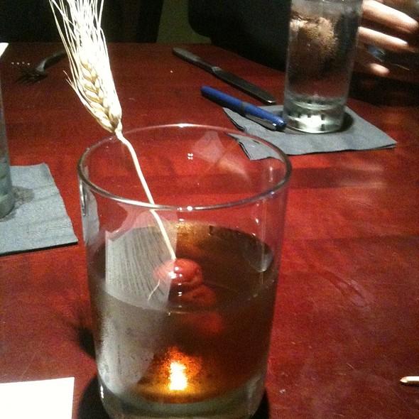 Wheat Shocktail - 4 Olives Restaurant, Manhattan, KS