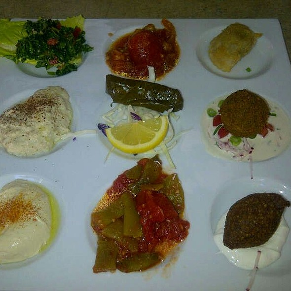Mezze Sampler - Lebanese Taverna - Westover, Arlington, VA