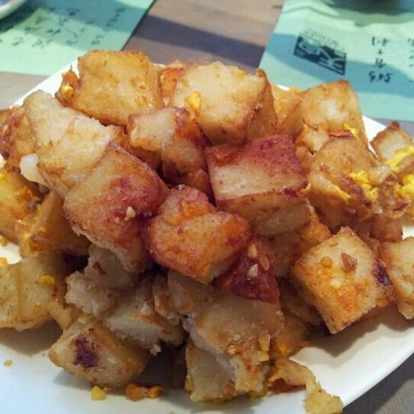 Singapore Style Turnip Cakes @ Congee Wong Restaurants