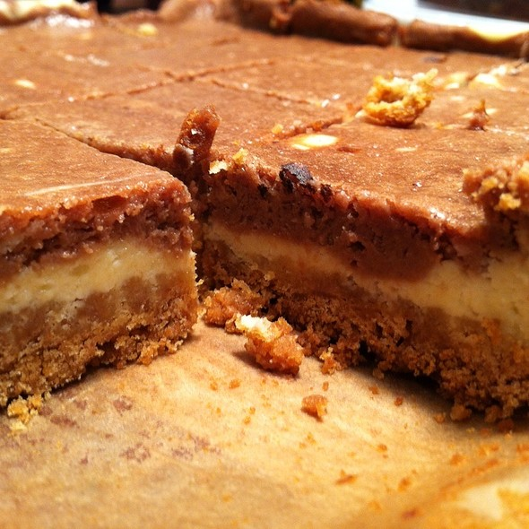 Nutella Cheesecake Bars @ The Page House