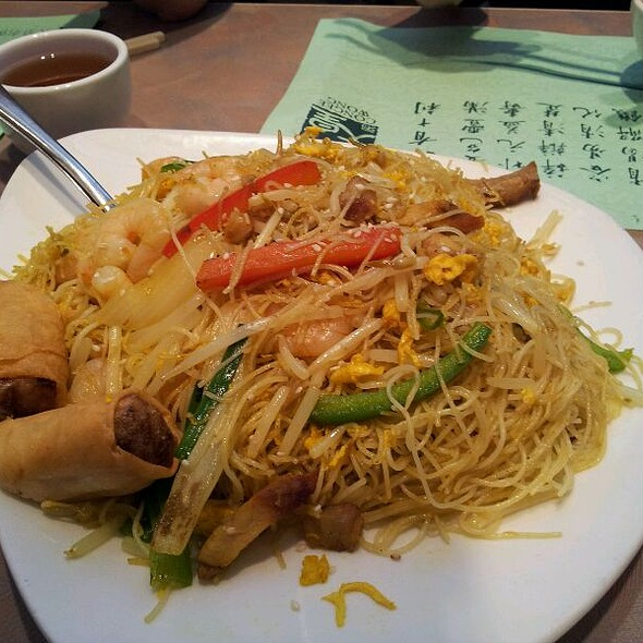 Singapore Stirfry Curry Vermicelli @ Congee Wong Restaurants