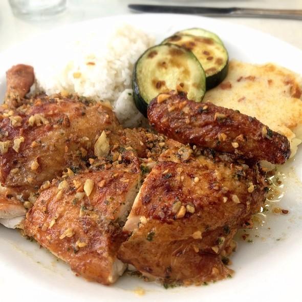Rotisserie Chicken Garlic Sauce @ Rotisserie Chicken of California