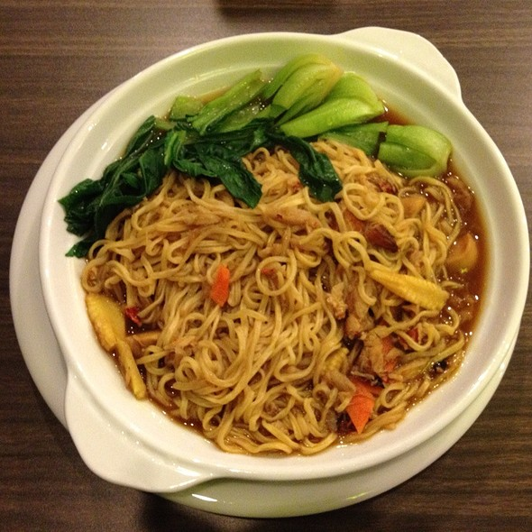 Crabmeat Crispy Noodle @ Tian Ding Xiang Chinese Cuisine