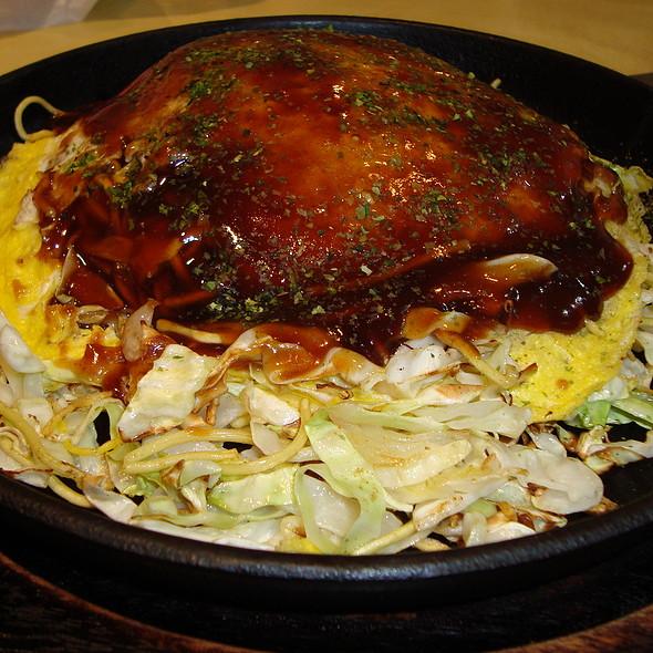 Hiroshima Style Pork Okonomiyaki