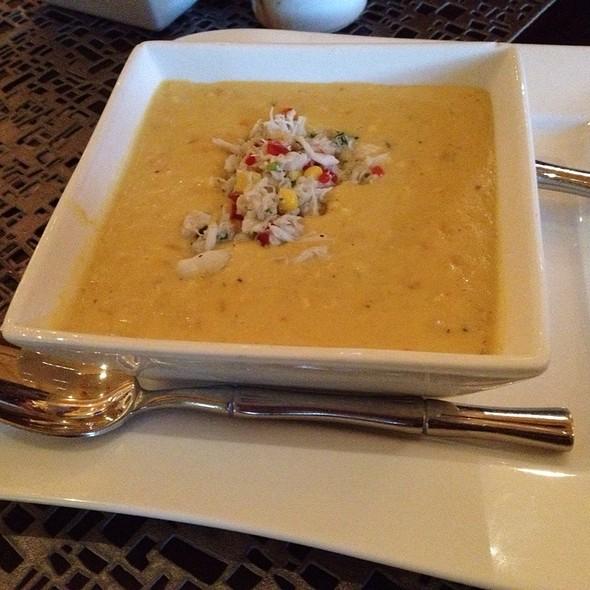 Summer Corn And Crab Bisque - Jake's American Bar at Loews Royal Pacific Resort, Orlando, FL