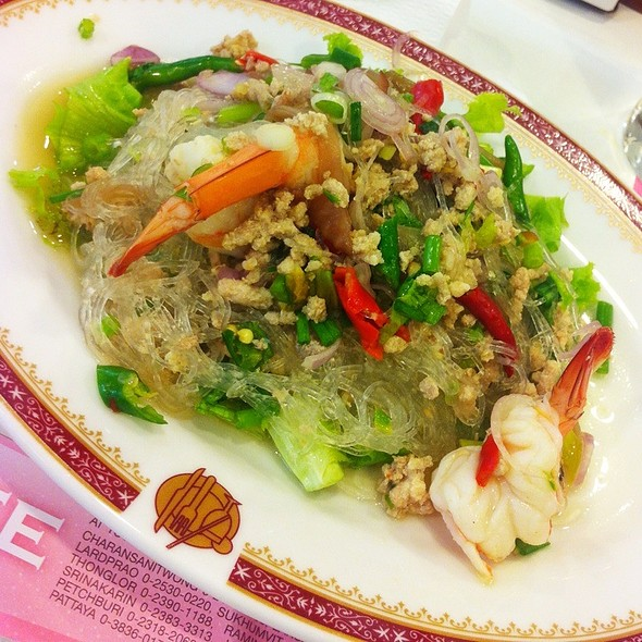 Spicy Vermiceli Salad Thai Style @ Took Lae Dee (Foodland)