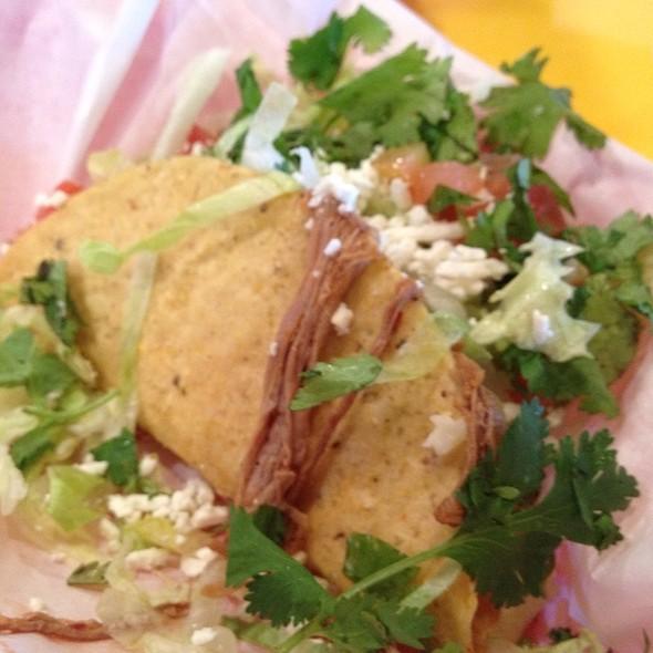 Beef Tacos @ Fuzzy's Taco Shop