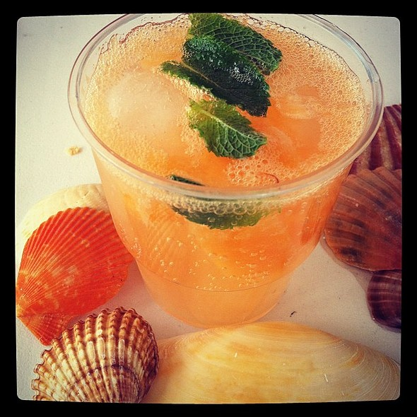 #french #melon #vodka @ Lac d'Hossegor