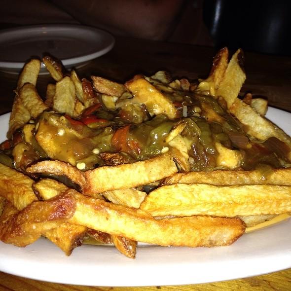 Green Chili Cheese Fries @ Shady Grove