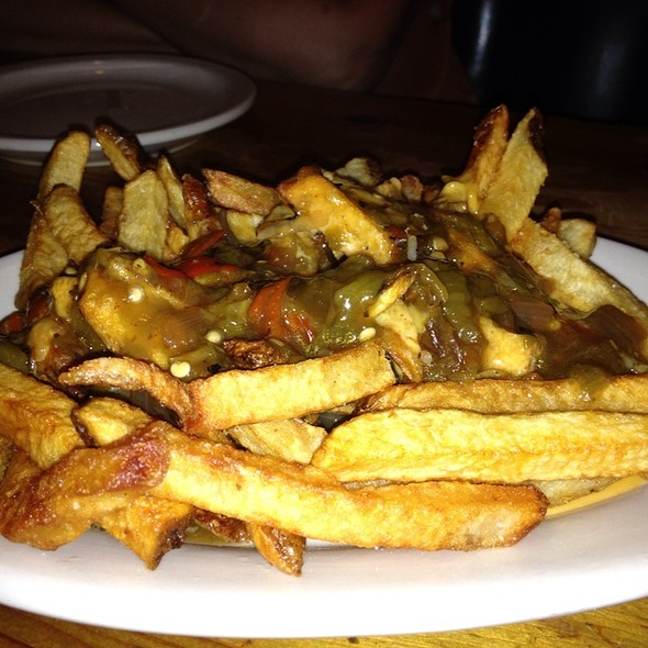 Green Chili Cheese Fries @ Shady Grove
