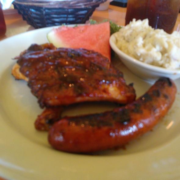 BBQ Baby Back Pork Ribs @ Lucille's Smokehouse Bar-B-Que