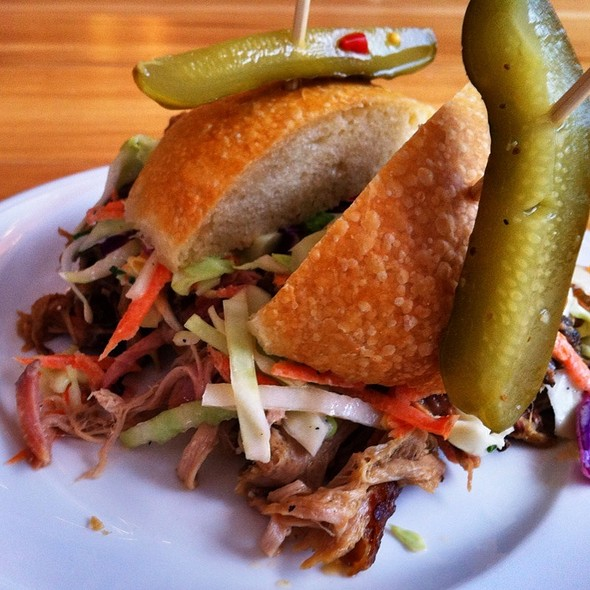Pork Ninja Bbq Pulled Pork Sammie @ The Deppaneur