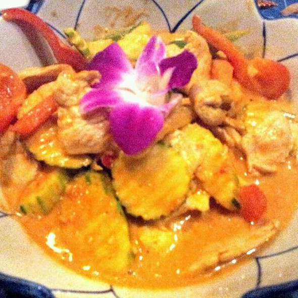 Panang Chicken @ Ban Thai and Sushi