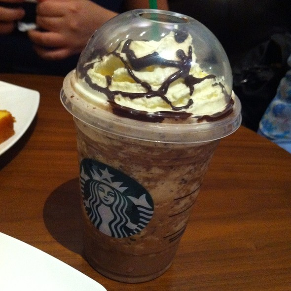 Java Chip Frappuccino @ Starbucks Avenida Escazu
