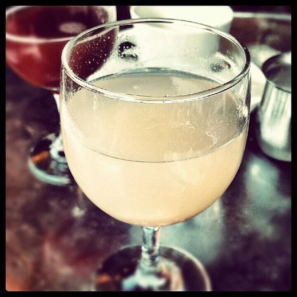 Peach Bellini @ Bonjour Cafe