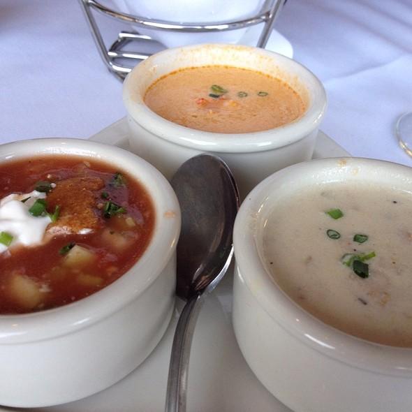 Soup Trio - Chart House Restaurant - Marina del Rey, Marina Del Rey, CA