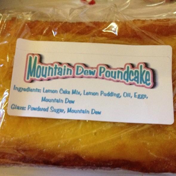 Mountain Dew Poundcake @ Ayers Farm Farmers Market