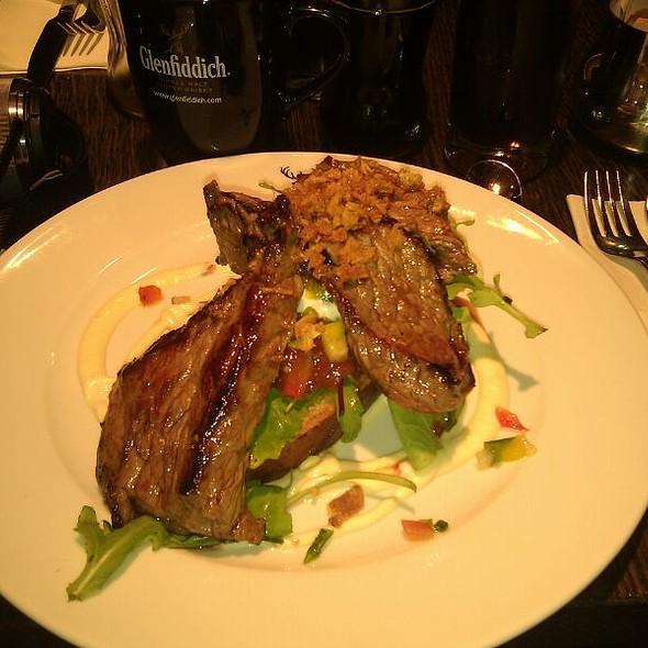 Hot Aberdeen Angus Steak Sandwich @ Glenfiddich Cafe