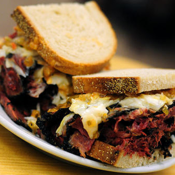 Corned Beef and Pastrami Sandwich @ Katz's Delicatessen Inc