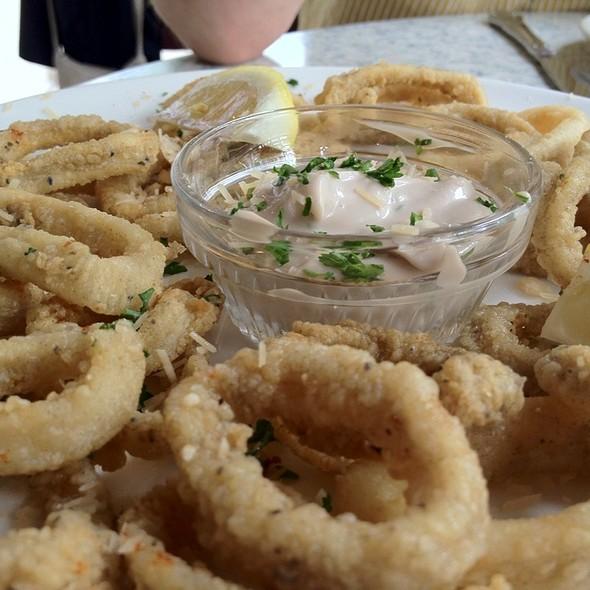 Fried Calamari @ Mama Carolla's Old Italian Restaurant Indianapolis