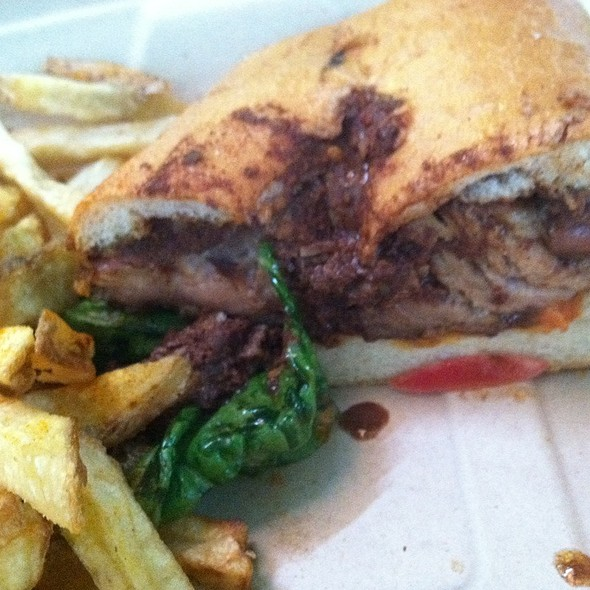 Jerk Pork Sandwich @ Primo Patio Cafe