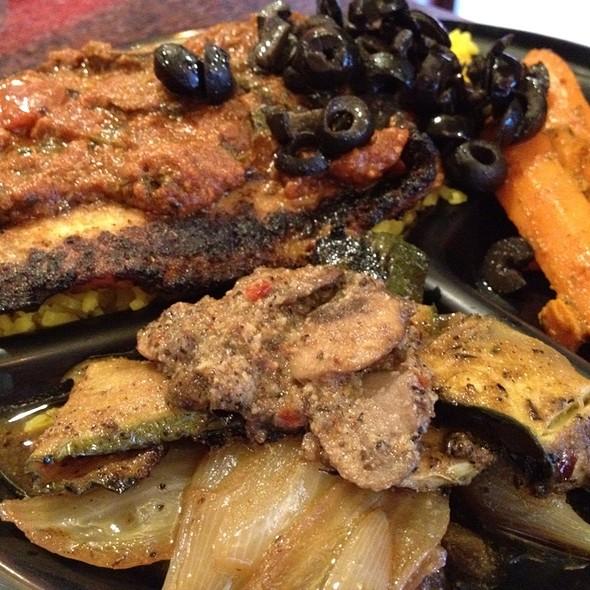 Malabata Plate @ Poccadio Moroccan Grill