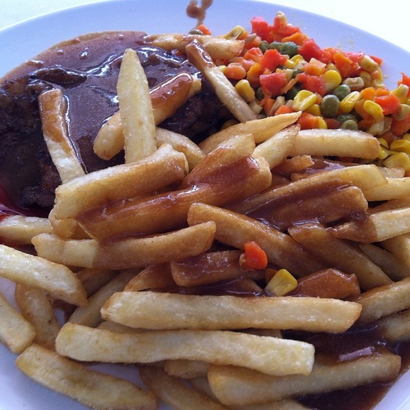 Chicken Chop @ Wings Cafe