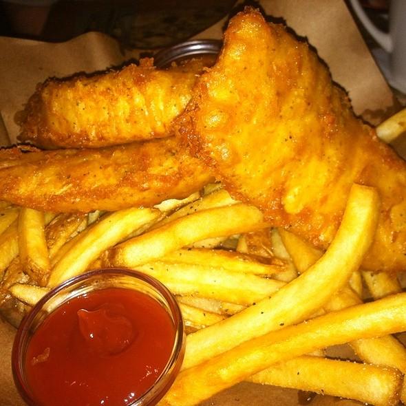 Fish and Chips @ Bonefish Grill - Alexandria
